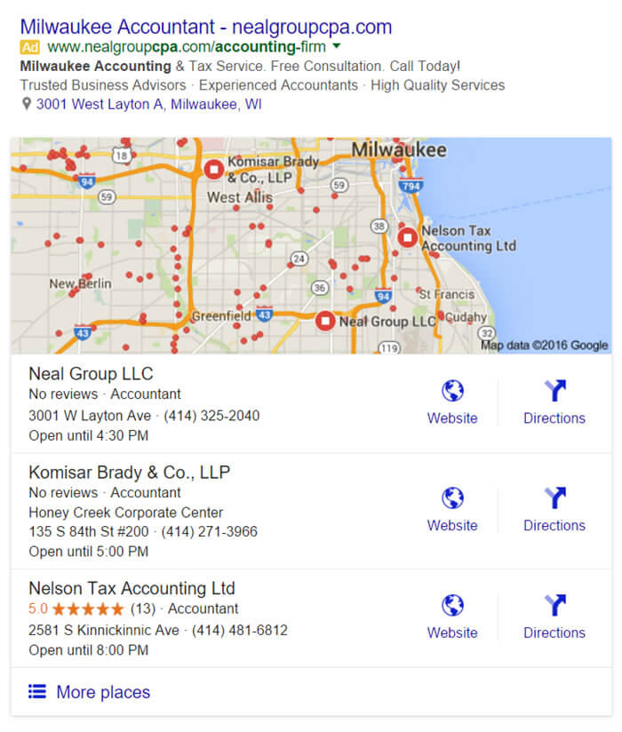 Google-Local-3-Pack-Listings