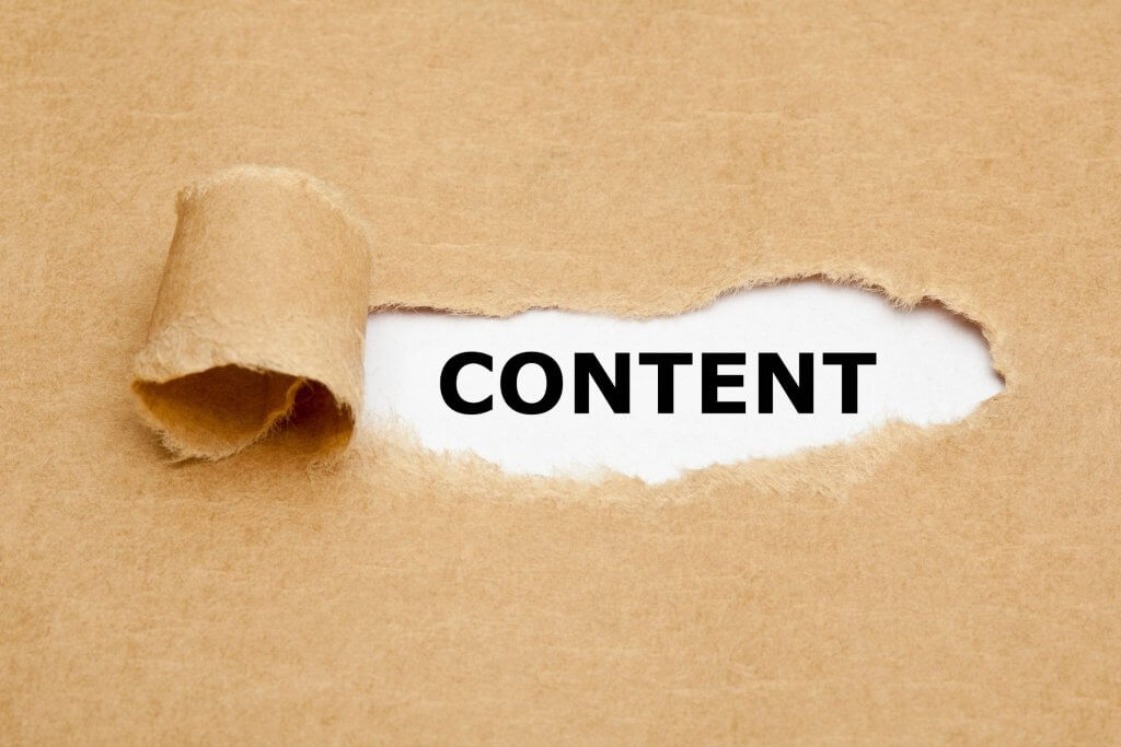 content writing concept